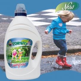 Detergente líquido concentrado Compac original en Gel Toimpo 55 lavados