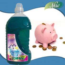 Detergente líquido diario Ecowash Toimpo 42 lavados