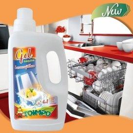 Gel lavavajillas detergente máquina todo en 1 Toimpo 960 ml.