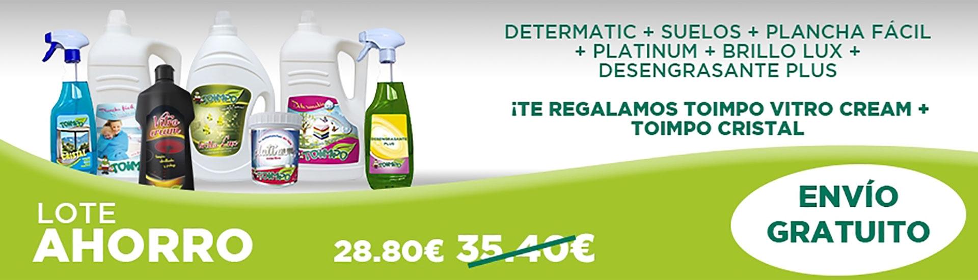 LOTE AHORRO: descuento + Vitrocream + Cristal gratis + envío gratis